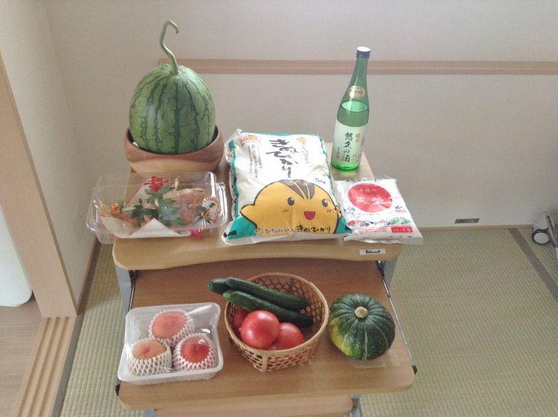 初めて神棚を設置する際のお供え物類(旬菜旬果)