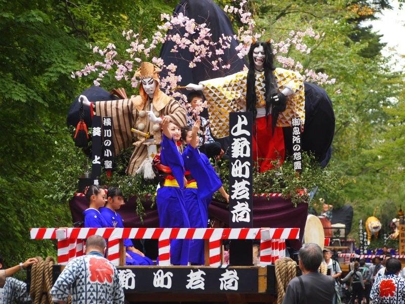 角館のお祭り'16:曳山(やま)...