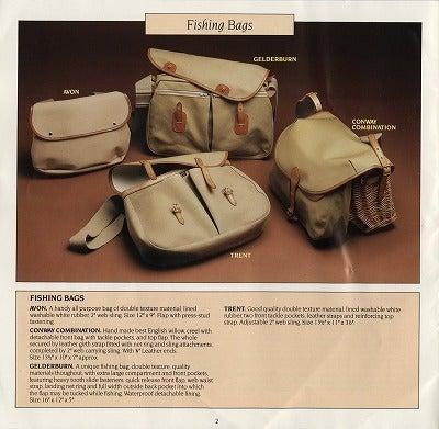 Bradyフィッシングバッグ