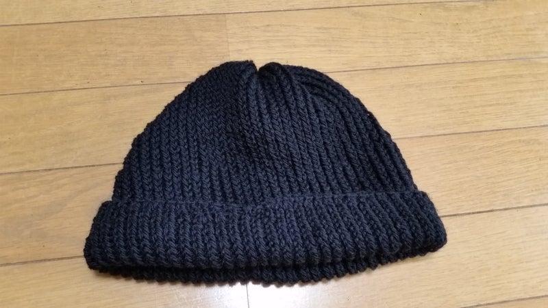 ニット 帽 編み 方 輪 針