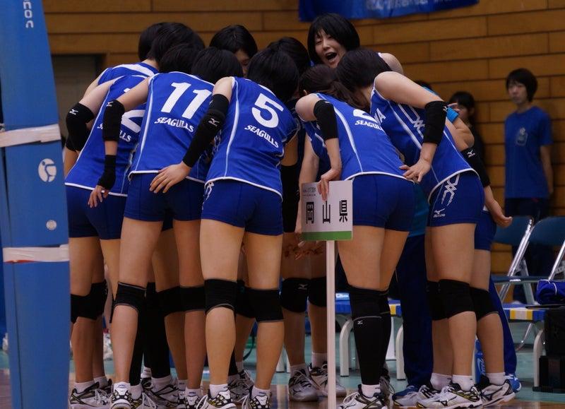 第71回国民体育大会・バレーボール競技 第1日 北海道戦(北海道女子 ...
