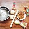 【snack making】アンパンマンのちぎりパン作り◡̈♥︎の画像