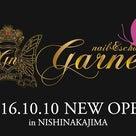 New open♡2016年10月10日…西中島Nail&school Garnetの記事より