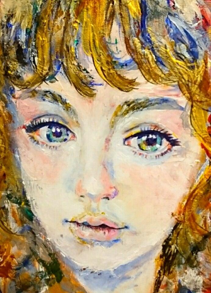 ゆうこりんの秘密の小部屋 (yukomakimura)色鉛筆画、鉛筆画、色鉛筆画リアル、水彩画、ペット似顔絵、似顔絵アクリル絵の具で油絵風に描く