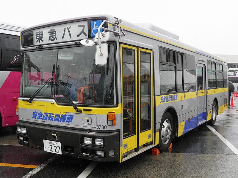 黄色い東急バス! 高津営業所TA8...