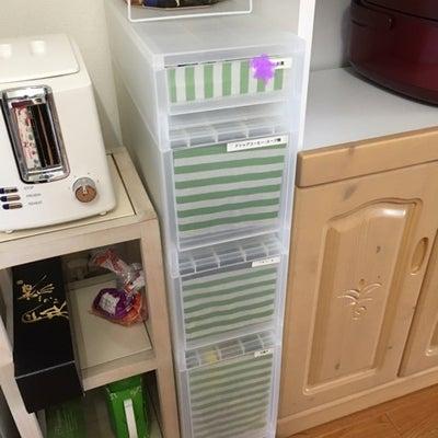 スティックタイプの飲み物の整理収納の記事に添付されている画像