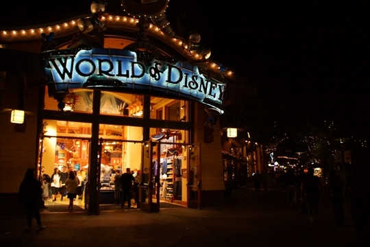 World of Disney その1