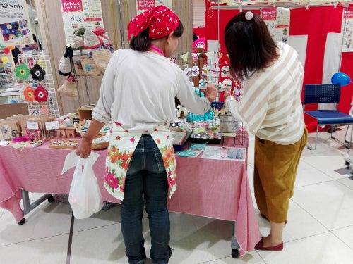 刺繍編み物のお店マノマノのお客様