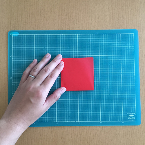 05miryon流☆折り紙でチマチョゴリを折る方法