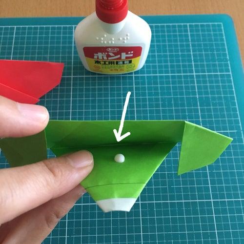 69miryon流☆折り紙でチマチョゴリを折る方法