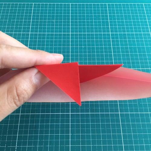 15miryon流☆折り紙でチマチョゴリを折る方法