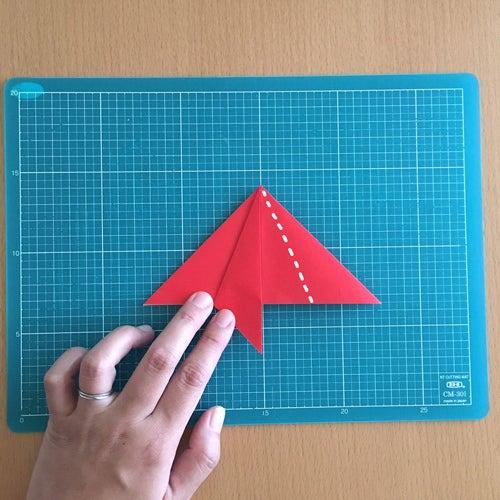 12miryon流☆折り紙でチマチョゴリを折る方法