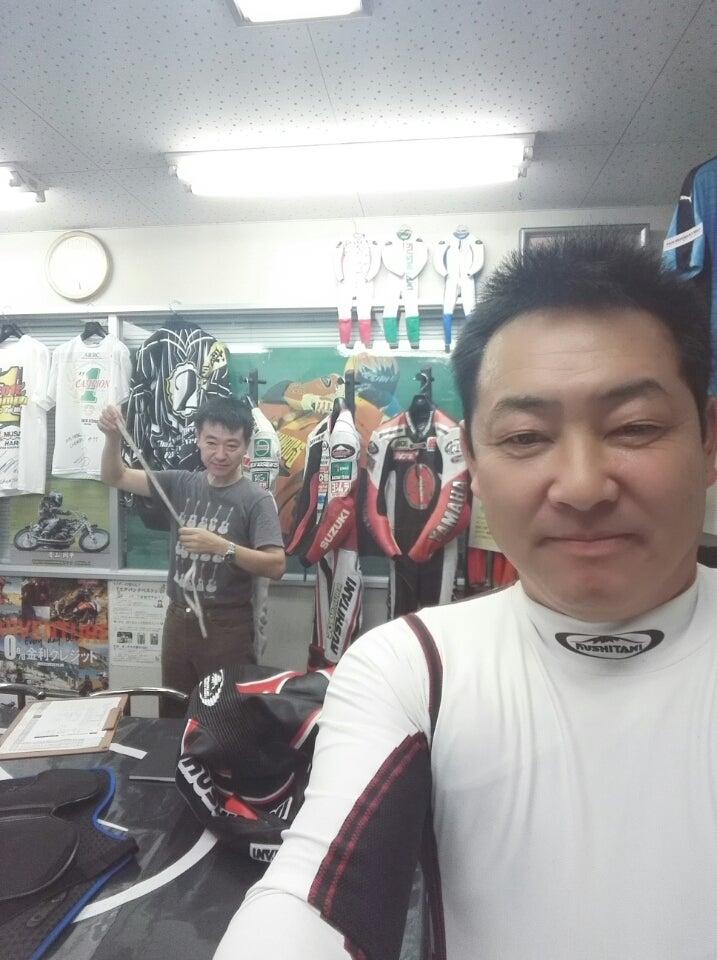 クシタニさんのレーシングスーツ...