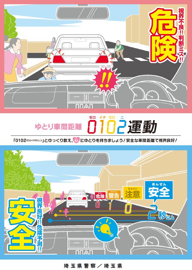 神戸で交通安全を願う社労士のブログ車間距離をとりましょうコメント