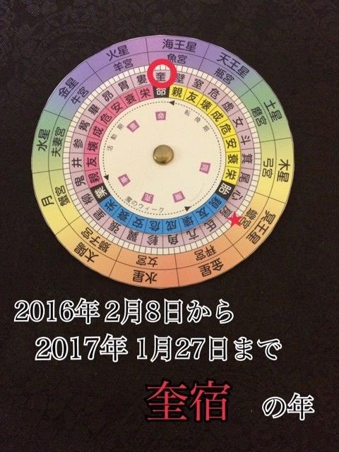 宿曜盤を使った運勢の読み方【年...