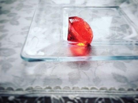 誕生石の琥珀糖 トルマリン