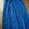 昔のデニムスカートを、の画像