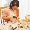 【ご感想】自宅サロンならでは、先生のお教室の醍醐味だと感じました!:出産祝いに♡フォトフレームの画像