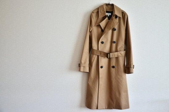 トレンチ コート ハイク