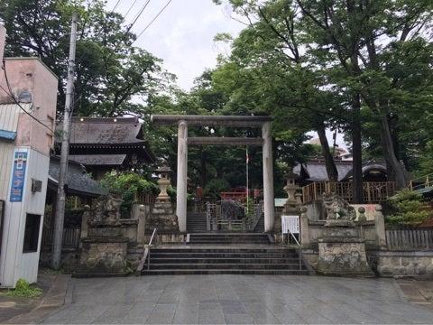安積国造神社(郡山市)   ハニ...