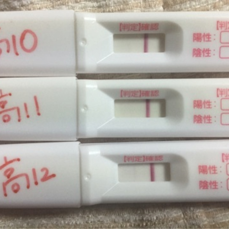 妊娠 高温期11日目 陰性
