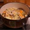 冷たいまま食べれる冷凍食品。手羽中の唐揚げとお鍋。の画像