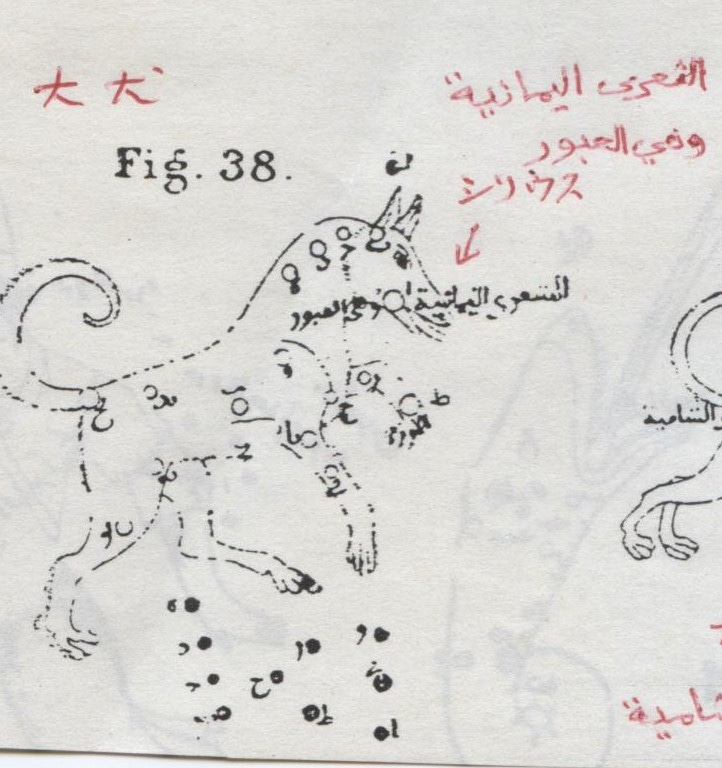 天界の犬 大犬座al-Kalb al-Akba...