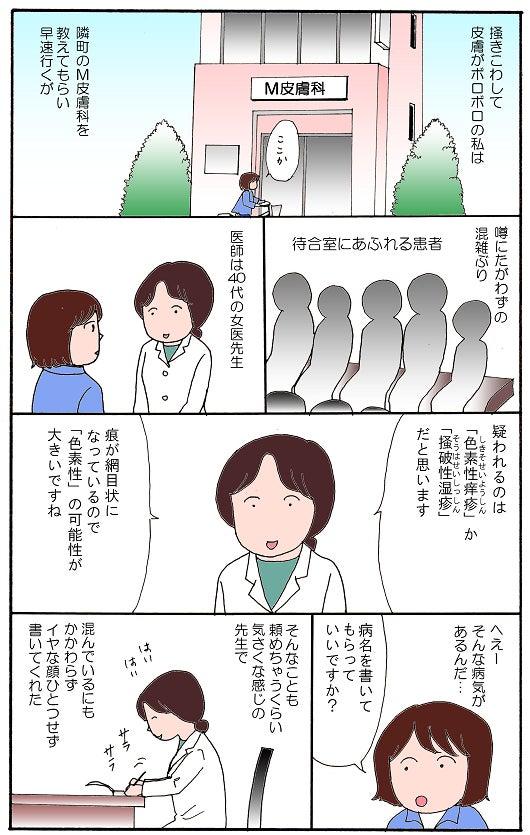 色素性痒疹(4)めぐり会えた皮...