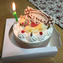 ココ7歳の誕生日!