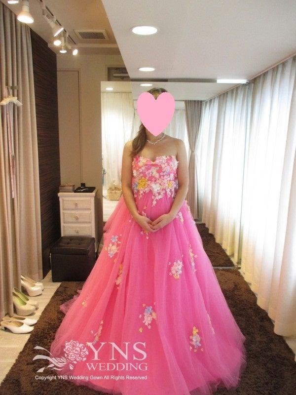 d02f07db15bc3 ドレス: SAI16911. ビビットカラーが印象的な1着 が
