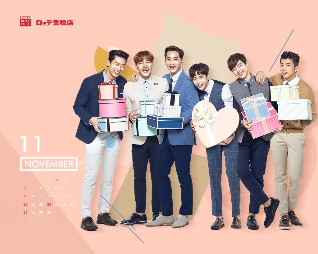 2pm Lotte Duty Free 11月壁紙 Check S Diary 2pm