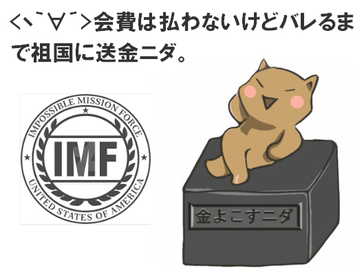 IMFによる韓国救済