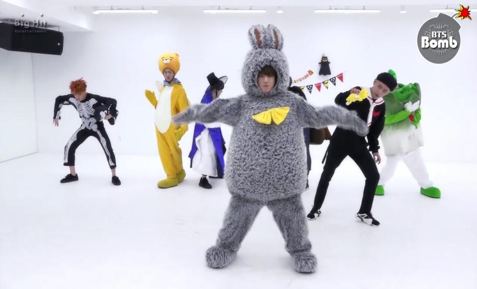 でも、ジョングクのウサギは、本当に似合ってますね ハート