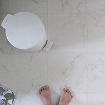 ★洗面所の床を一流ホテルっぽく?大理石タイル風がおススメ!(10万円台リフォームの記事に添付されている画像