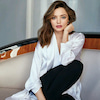 Miranda Kerr in white shirtの画像