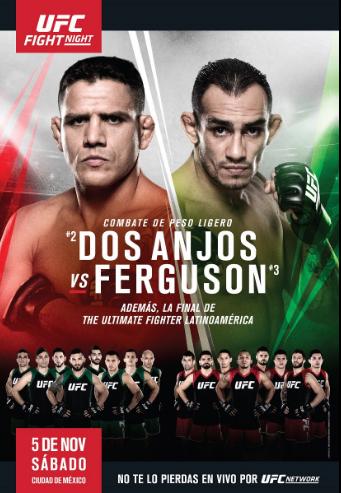 UFN98】UFC Fight Night 98 対戦...