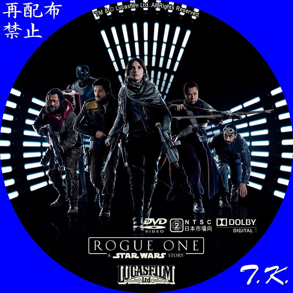 ローグ・ワン/スター・ウォーズ・ストーリー DVD/BDラベル | T.K.のCD ...