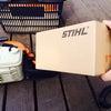STIHLチェンソーのハンドルを修理した。の画像