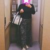 GU590円プリーツスカートで休日のんびりコーデの画像