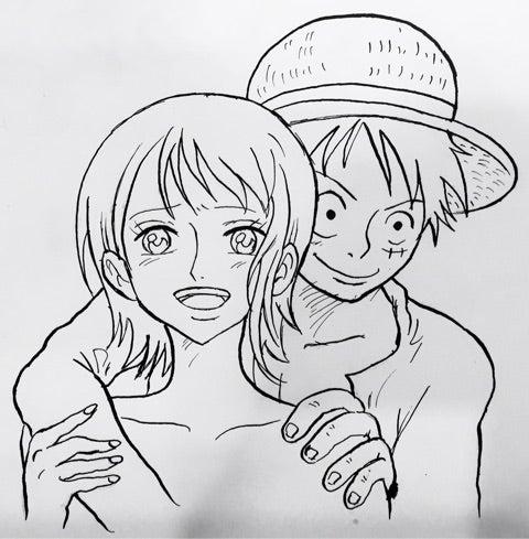 【ワンピース】ナミとルフィが恋人になら ...