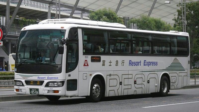 富士急シティバスの高速車