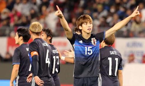 ハイライト/採点] 日本代表4-0...