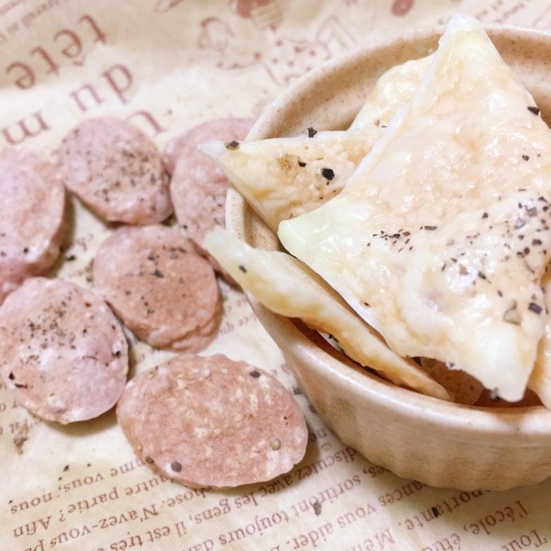 チーズチップス&ぎょにそチップス 切ってチンで簡単おツマミ