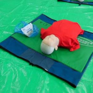 救命救急講習会の画像