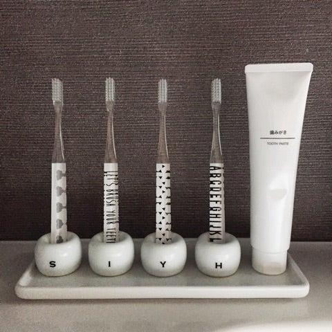 無印良品の磁器歯ブラシスタンドの可能性。