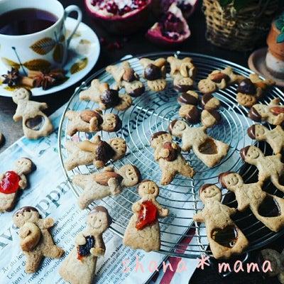 スウェーデンの味❤ノンバターでザクッとヘルシー♪だっこちゃんスパイスクッキー♪の記事に添付されている画像