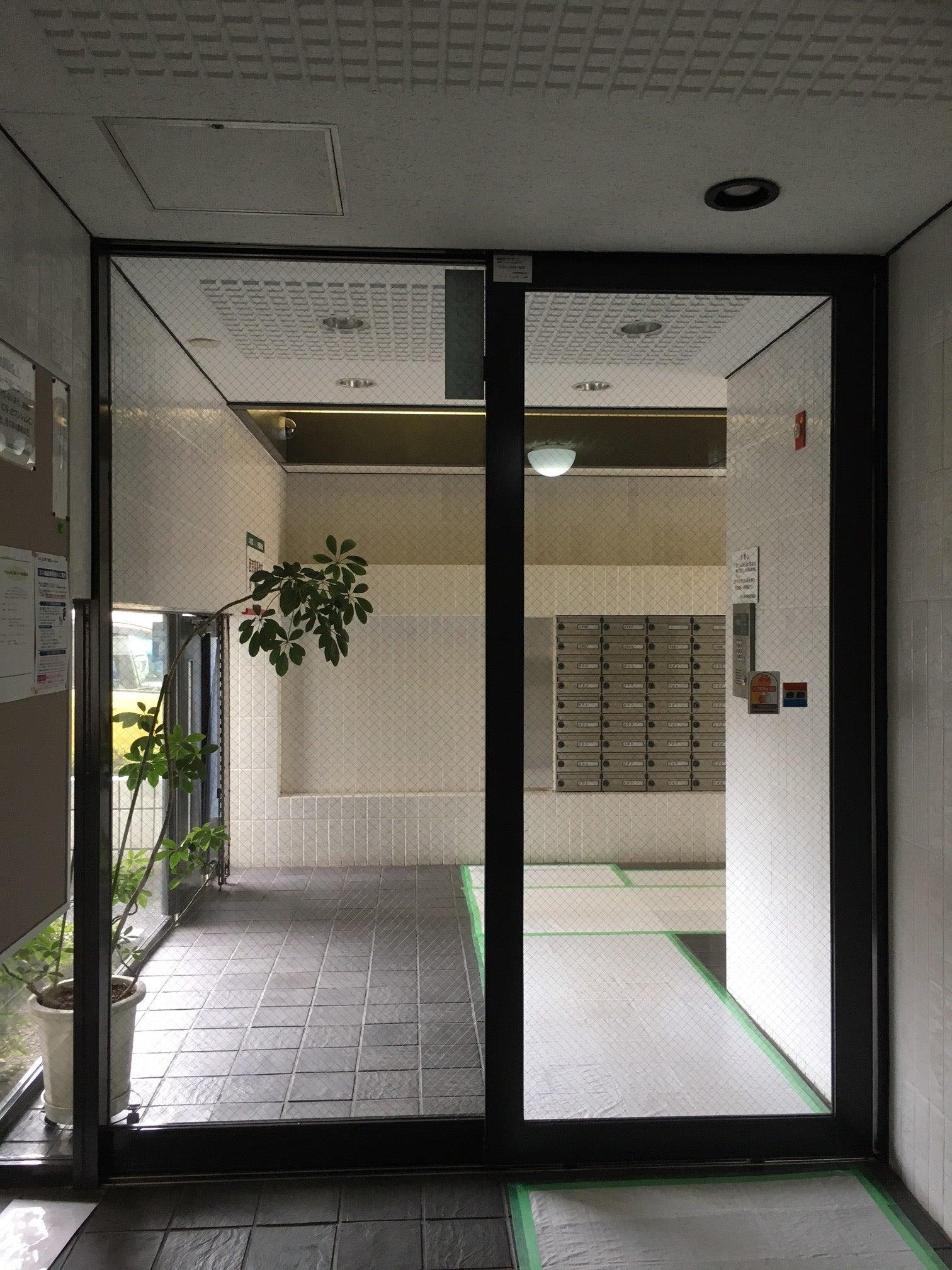 サニーのてっちゃんのブログ京都市 某マンションエントランス自動ドア取替工事