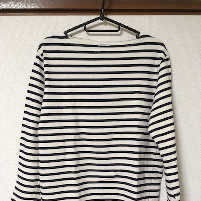 ORCIVAL / フレンチバスクシャツの記事に添付されている画像