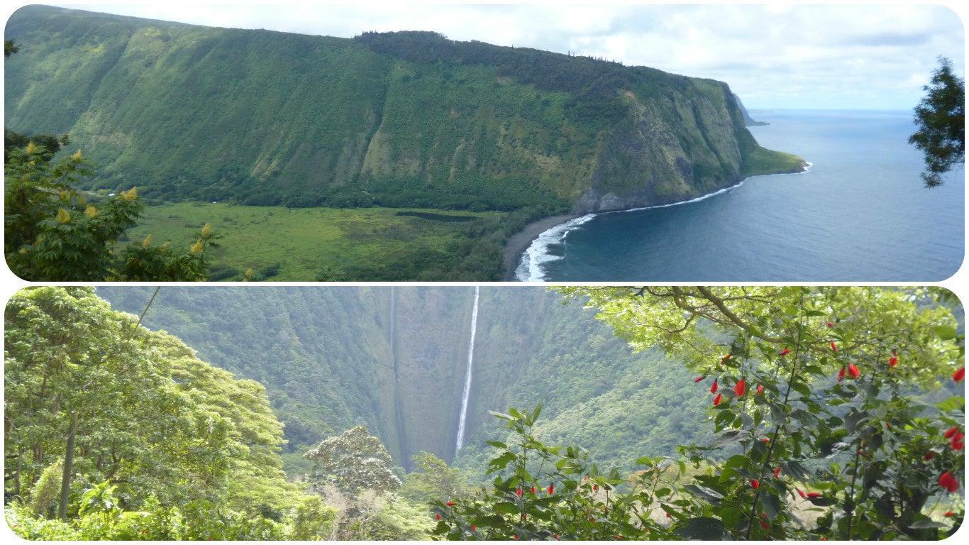 ハワイ島ワイピオ渓谷1