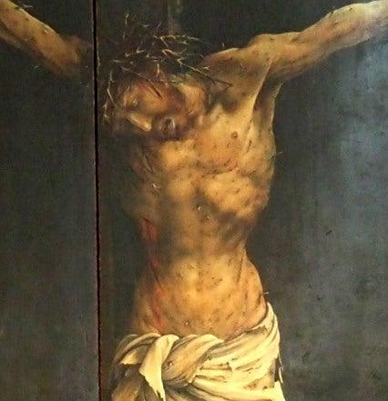 イーゼンハイム祭壇画 中央部